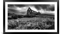 Pont y Pandy Mill Wales, Framed Mounted Print