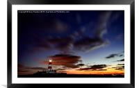 Happisburgh lighthouse , Framed Mounted Print