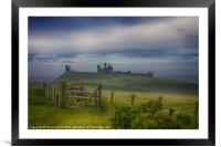 The Road To Dunstanburgh, Framed Mounted Print