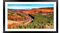 Scotsman in the Dale, Framed Mounted Print