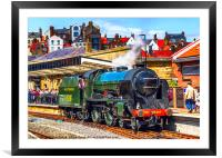 Repton at Whitby, Framed Mounted Print