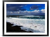 Sennen Cove, Cornwall, Framed Mounted Print