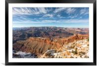 Colorado River and the Grand Canyon, Framed Mounted Print