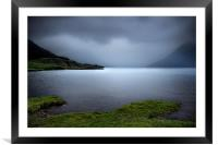 Wast Water mists, Framed Mounted Print