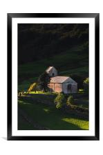 Kentmere Church, Framed Mounted Print