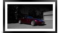 TVR Griffith, Framed Mounted Print