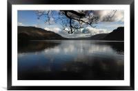 Ullswater reflections, Framed Mounted Print