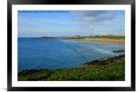 Fistral Beach, Framed Mounted Print
