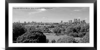 Greenwich park , Framed Mounted Print