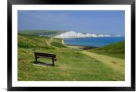 Seven Sisters View, Framed Mounted Print