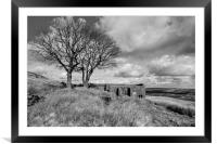 Top Withens Haworth, Framed Mounted Print