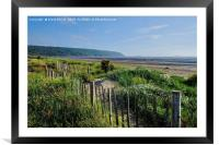 Sand Bay Beach Somerset, Framed Mounted Print