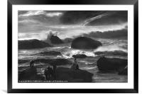 Watchers of the Sea, Framed Mounted Print