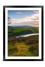 Clouds over Kinder, Framed Mounted Print
