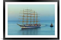 ROYAL CLIPPER                     , Framed Mounted Print