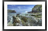 Lulworth Cove, Framed Mounted Print