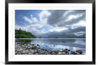 Derwent Water, Framed Mounted Print