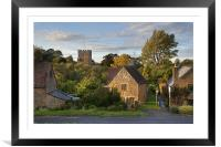 Ilmington, Framed Mounted Print