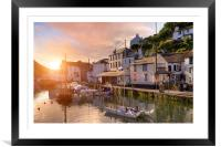 Polperro, Framed Mounted Print