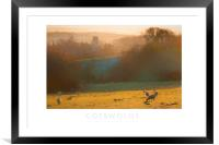 Cotswolds, Framed Mounted Print