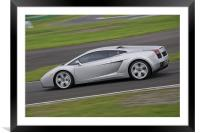 Lamborghini Gallardo, Framed Mounted Print