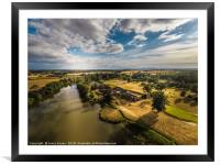 The stunning Patshull Golf course, Country park, Framed Mounted Print