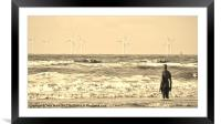 Wild Day, Framed Mounted Print