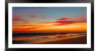 After Glow, Framed Mounted Print
