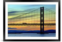 the forth, Framed Mounted Print