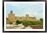 SPANISH COUNTRYSIDE, Framed Mounted Print