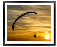 Up Up and Away, Framed Mounted Print