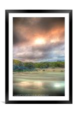 Durness Beach at Sunset, Framed Mounted Print