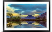 Stac Polly in the Highlands, Framed Mounted Print