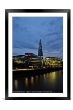 The Shard, Framed Mounted Print