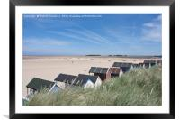 Wells next the Sea, Framed Mounted Print