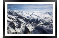 Val DIsere, Framed Mounted Print