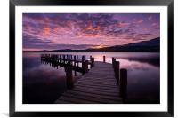 Coniston Water, Framed Mounted Print
