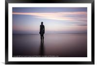 All by myself, Framed Mounted Print