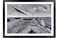 Buzzing Upper Heyford, Framed Mounted Print