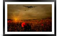Lest We Forget, Framed Mounted Print