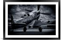 Spitfire, Framed Mounted Print