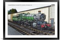 """West Somerset Manor Class No 7828 """"Norton Manor"""", Framed Mounted Print"""