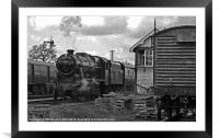 Southern Built 8F No 48624, Framed Mounted Print