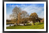 Island, Coltishall Common, Framed Mounted Print