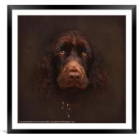 Charlie - The Portrait, Framed Mounted Print