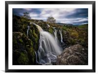 The Loup of Fintry, Scotland, Framed Mounted Print