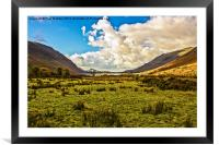 Wastwater in Wasdale, Framed Mounted Print