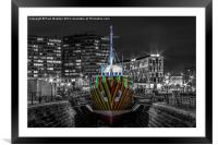 The Dazzle Ship, Framed Mounted Print