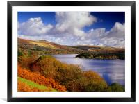 Burrator Reservoir, Framed Mounted Print