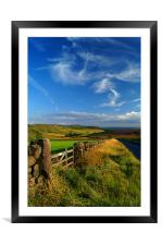 View Towards Over Owler Tor & Millstone Edge, Framed Mounted Print